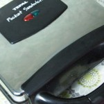Сендвичница Tefal sm3000 в работе