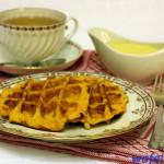 Домашние тыквенные вафли – необычно и вкусно