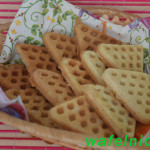 Вкусное и простое печенье в вафельнице своими руками